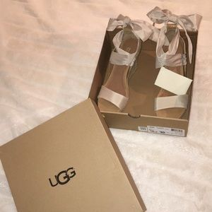 NEVER BEEN WORN UGG WEDGES